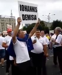 Protestatar pro-PSD