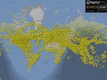Aproape 20.000 de zboruri in aer in acelasi timp