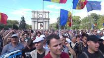Protest de amploare la Chisinau