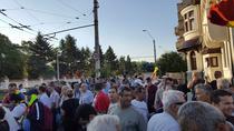 Protest la Cotroceni impotriva lui Iohannis