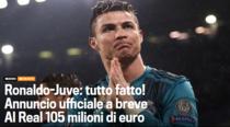 Cristiano Ronaldo, la un pas de Juventus