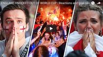 Anglia vs Croatia, de la bucurie la tristete