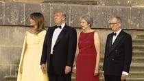 Donald Trump si Theresa May