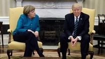 Angela Merkel si Donald Trump