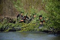 Infanteristi marini pe Dunare