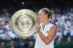 Angelique Kerber, campioana la Wimbledon