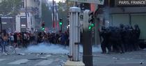Incidente in Franta, dupa triumful nationalei de fotbal la CM