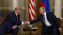 Donald Trump si Vladimir Putin, la Helsinki