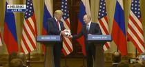 Donald Trump si Vladimir Putin la Helsinki