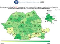 Rezultate titularizare 2018 la nivel national