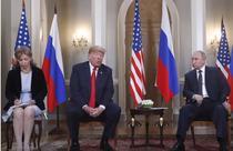 Trump si Putin la Helsinki
