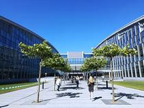 Sediul NATO - intrarea principala