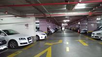 Parcarea subterana de la Universitate