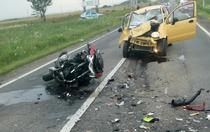 Accident în Dambovita