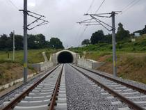 Tunelul CFR de langa Sighisoara