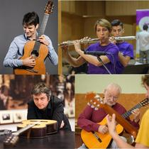 Tineri muzicieni in concert la Castelul Peles