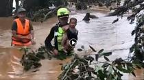 Copil salvat in Laos