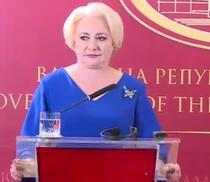 Viorica Dancila, in Macedonia