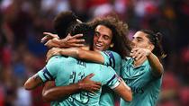 Arsenal, victorie intr-un amical cu PSG