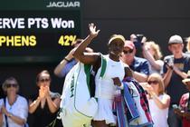 Sloane Stephens, eliminata de la Wimbledon
