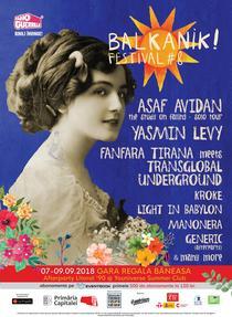 Balkanik Festival, 7-9 septembrie