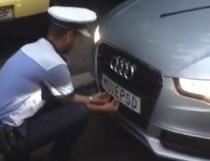 Politia ridica numarul cu M... PSD