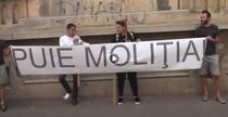 Protest la Poliia Rutiera