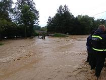 Inundatii din Romania
