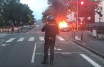 Incendii declansate in semn de protest in Nantes