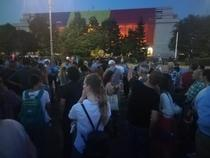 Protest in Piata Victoriei (4 iulie 2018)