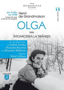 Olga sau intoarcerea la Tibanesti