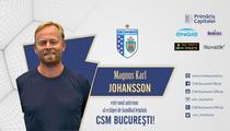 Magnus Karl Johansson, noul antrenor al echipei de handbal feminin CSM bucuresti