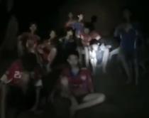 Copiii blocati in pestera din Thailanda