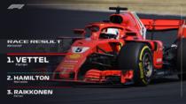 Sebastian Vettel, invingator la Silverstone