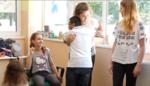 Copii la Centrul de recuperare Kids Galati