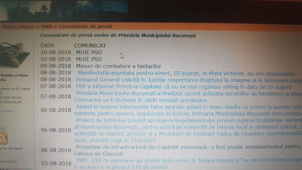 Comunicat de presa Primaria Municipiului Bucuresti (2)