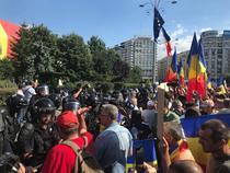 Protest Piata Victoriei 10 august 2018