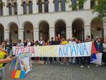 Protestul romanilor din Munchen