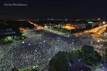 Protest Piata Victoriei 11 august