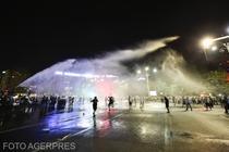 Violente la protestul din 10 august