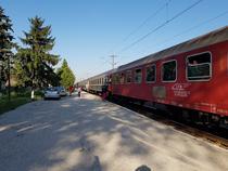 Tren catre Litoral, in Gara Baneasa