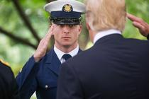 Donald Trump, Memorial Day