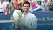 Novak Djokovic si trofeul de la Cincinnati