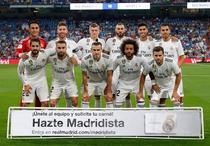 Real Madrid, inainte de startul partidei cu Getafe
