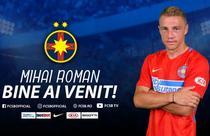 Mihai Roman, noul jucator al echipei FCSB