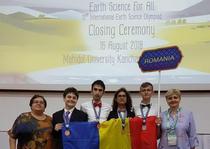 Lotul Romaniei la Olimpiada Internationala de Stiinte ale Pamantului