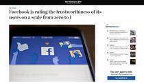 Facebook si sistemul sau de calificative