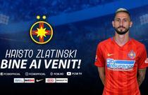 Hristo Zlatinski, noul jucator al echipei FCSB
