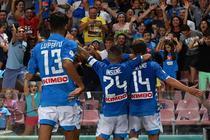 Napoli, victorie cu AC Milan