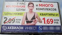 Panou sexist in Rusia